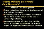 sports medicine for primary care physician s45