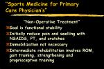 sports medicine for primary care physician s47