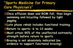 sports medicine for primary care physician s48