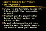 sports medicine for primary care physician s55