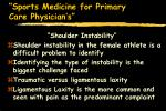 sports medicine for primary care physician s58