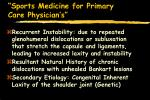 sports medicine for primary care physician s62