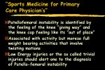 sports medicine for primary care physician s73