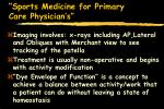 sports medicine for primary care physician s75