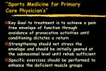 sports medicine for primary care physician s76