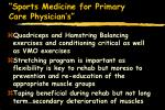 sports medicine for primary care physician s77