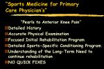 sports medicine for primary care physician s79
