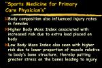 sports medicine for primary care physician s84