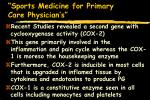 sports medicine for primary care physician s89