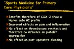 sports medicine for primary care physician s93