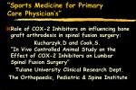 sports medicine for primary care physician s98