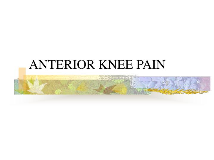 PPT - Sports injuries in Knee and ankle PowerPoint Presentation - ID:195048