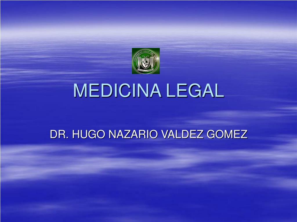 medicina legal l.