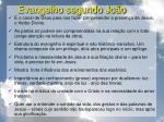 evangelho segundo jo o24