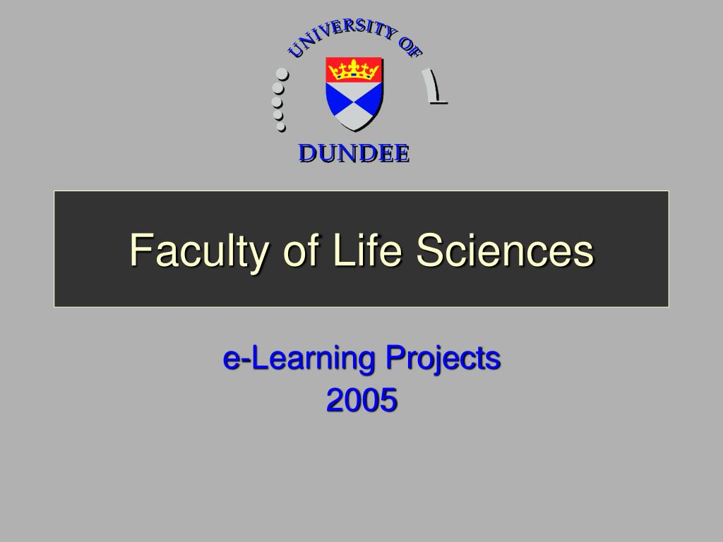 faculty of life sciences l.