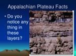 appalachian plateau facts30