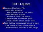 dsfs logistics