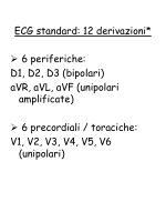 ecg standard 12 derivazioni