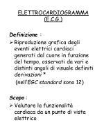 elettrocardiogramma e c g