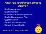 have you heard these phrases before