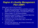 region 4 s quality management plan qmp