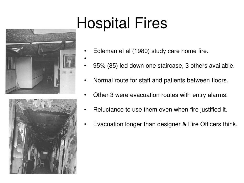 Hospital Fires