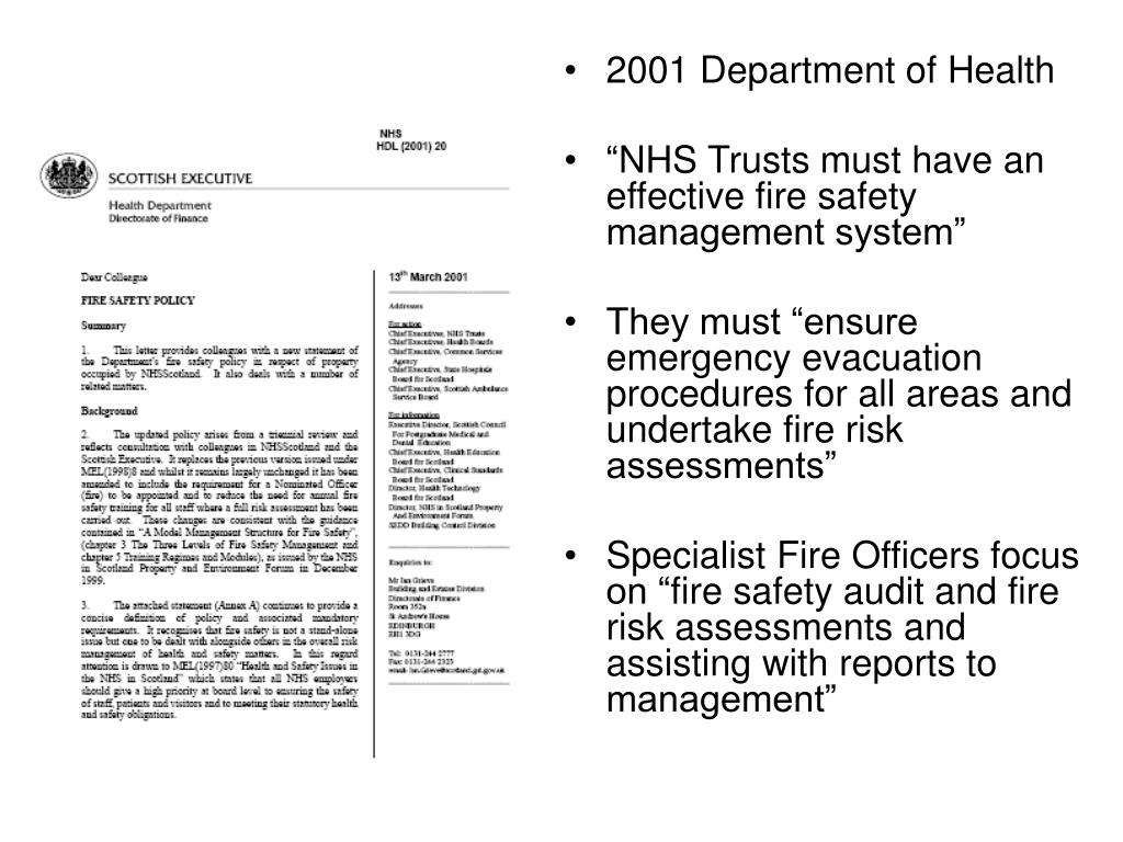 2001 Department of Health