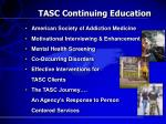 tasc continuing education
