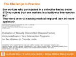 the challenge to practice