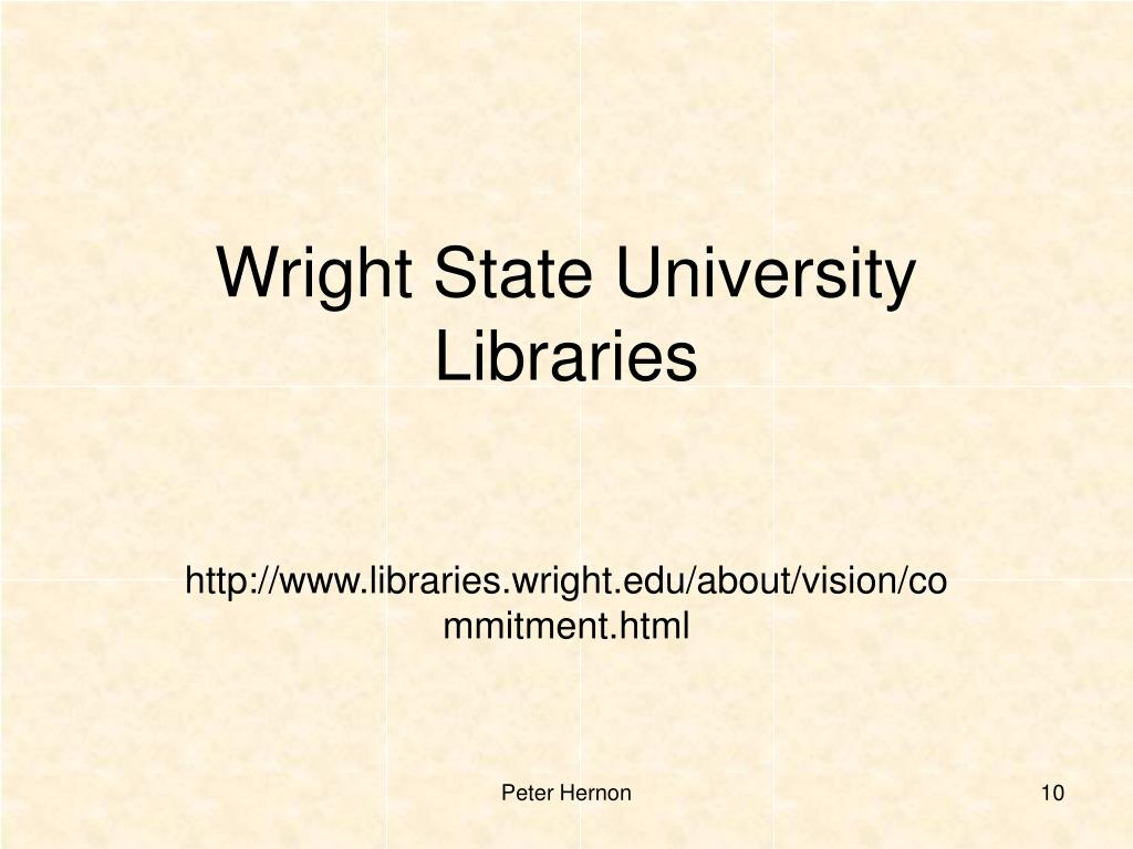 Wright State University Libraries