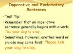 imperative and exclamatory sentences69
