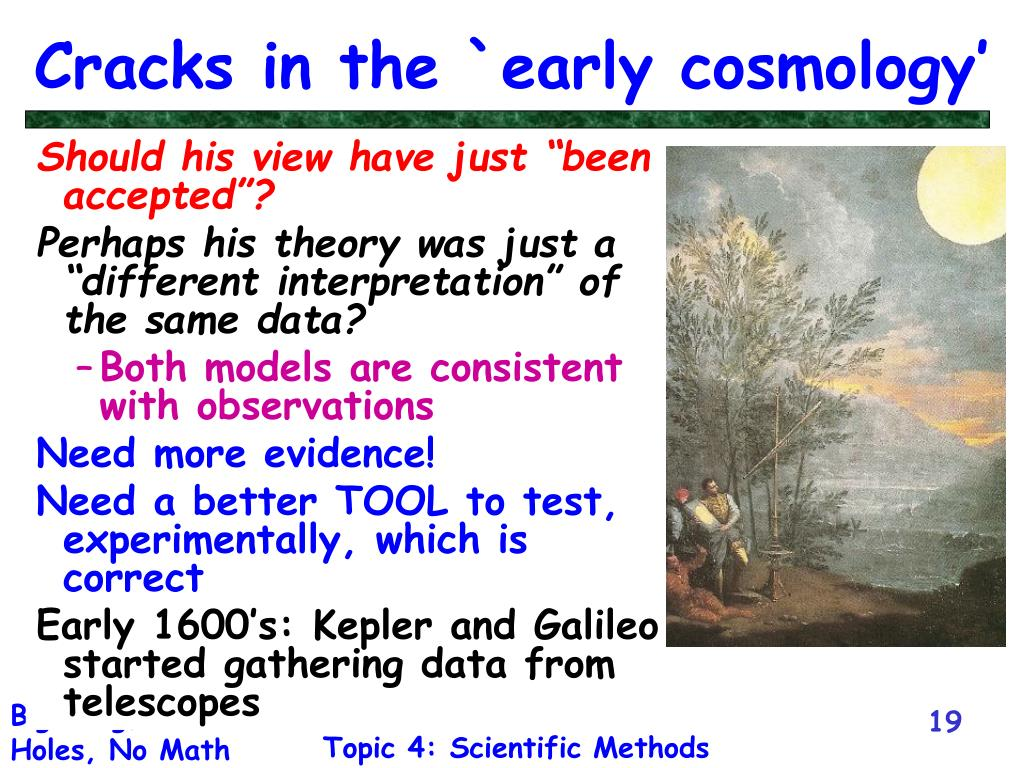 Cracks in the `early cosmology'