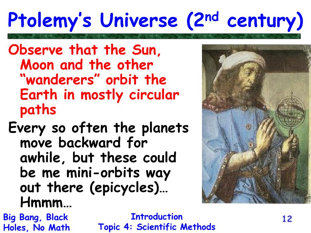 Ptolemy's Universe (2