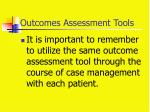 outcomes assessment tools