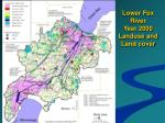 lower fox river year 2000 landuse and land cover