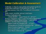 model calibration assessment