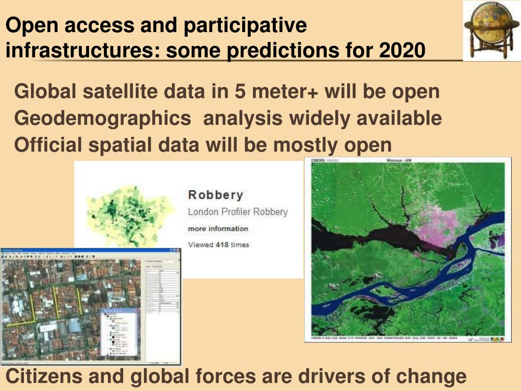 Open access and participative infrastructures: some predictions for 2020