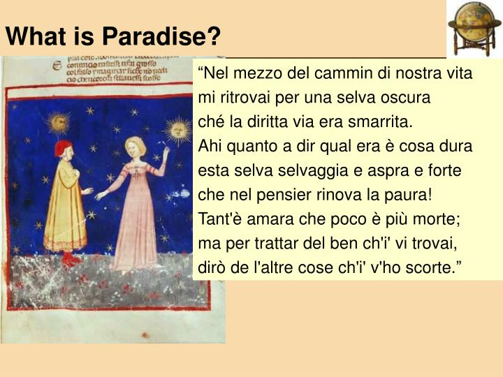 What is paradise