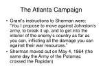 the atlanta campaign