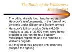 the battle of the wilderness may 5 186431