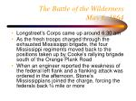 the battle of the wilderness may 6 1864