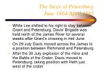 the siege of petersburg june 1864 april 1865