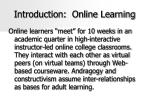 introduction online learning