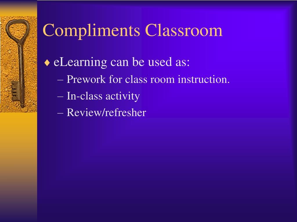 Compliments Classroom