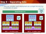 step 8 separating sets