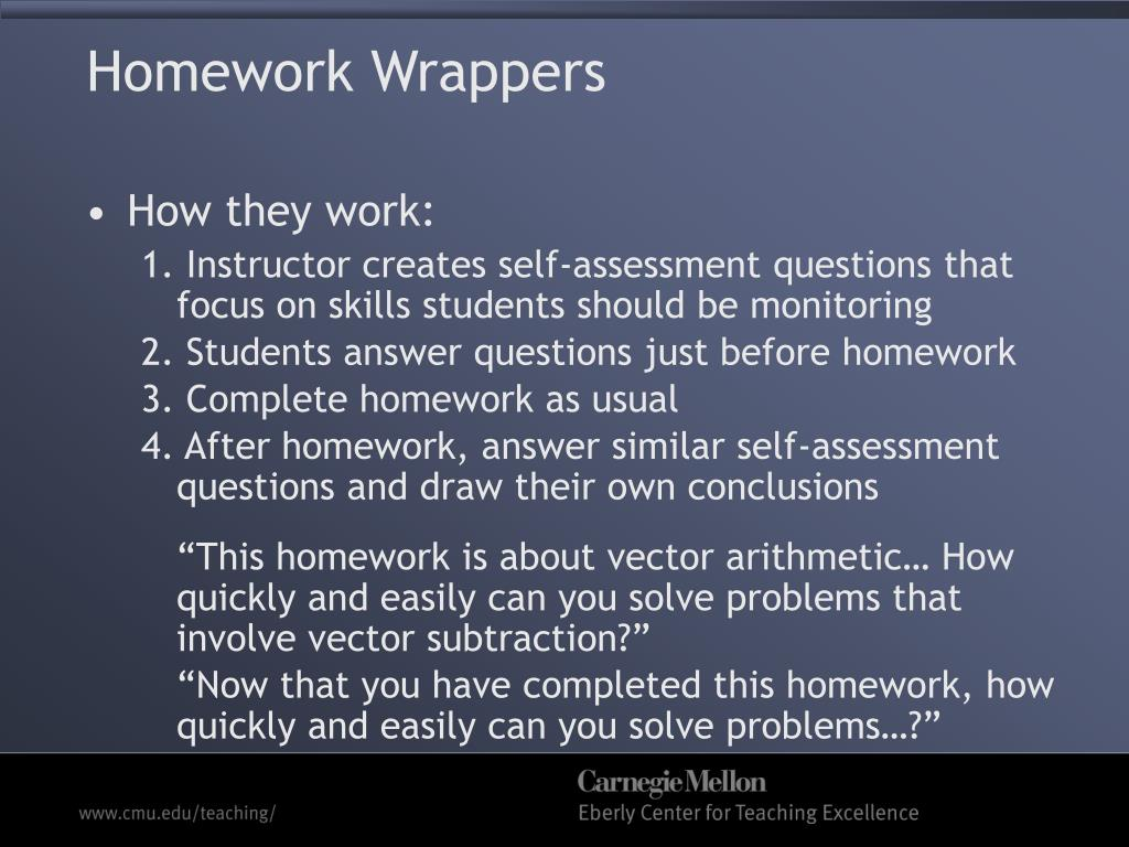 Homework Wrappers