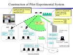 construction of pilot experimental system