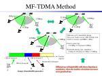 mf tdma method