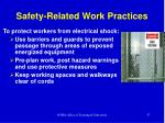 safety related work practices