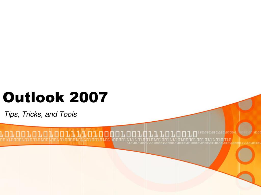outlook 2007 l.